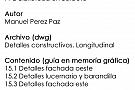 PFC detalle completo sección longitudinal