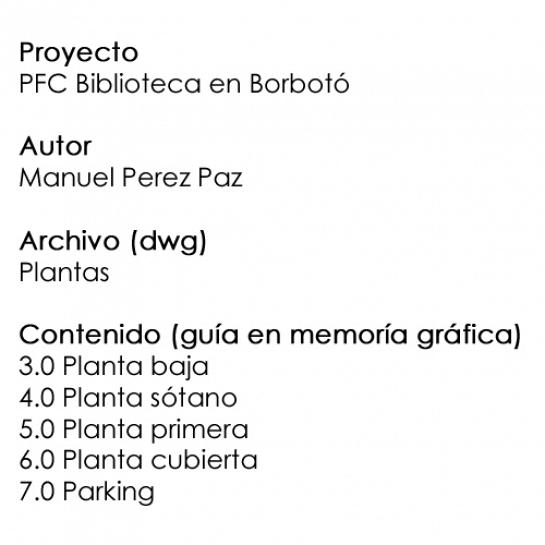 PFC plantas