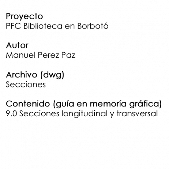 PFC secciones