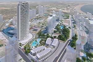 El Ayuntamiento aprueba el proyecto para la torre de 36 plantas Benidorm Beach