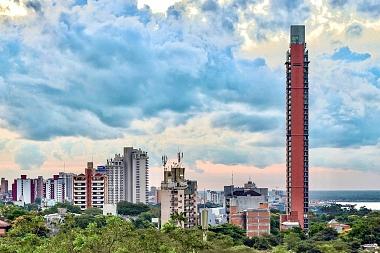 Asunción vista desde arriba