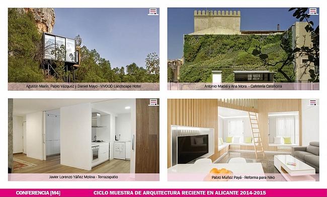 Conferencias muestra de arquitectura reciente en alicante Noticias de arquitectura recientes