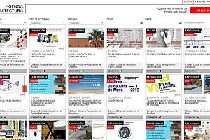Una web para estar al día de las actividades relacionadas con la Arquitectura en España