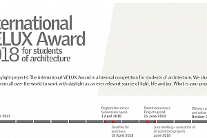 International VELUX Award 2018 for studens of architecture