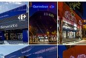Carrefour luce sus nuevas fachadas de panel STACBOND