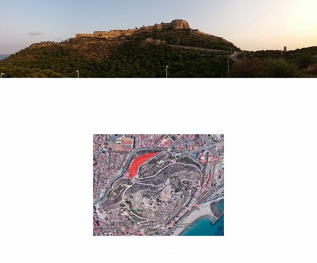 Identificación de un espacio de oportunidad con una vista excepcional del Castillo