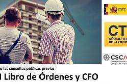 Abiertas las consultas públicas previas OM Libro de Órdenes y CFO
