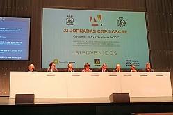 Discurso de Jordi Ludevid en la inauguración de las XI Jornadas del CGPJ y el CSCAE