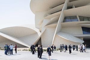 Jean Nouvel levanta en Doha el icono del desierto