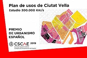 El plan urbanístico de Ciutat Vella, en Barcelona, Premio de Urbanismo Español 2019