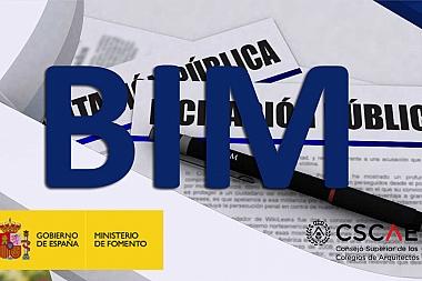 Convenio para el fomento de la metodología BIM en el ámbito de la contratación pública