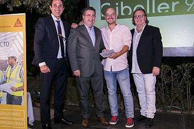 Gibeller participa con éxito en la Gala de Arquitectos, donde asistieron más de 200 profesionales