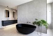 El modelo Origami llena de contrastes volumétricos el interior de una vivienda en Australia