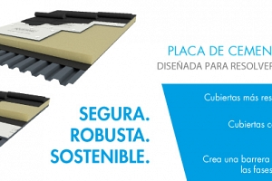 Knauf lanza AQUAPANEL® Rooftop,  una innovadora placa de cemento diseñada para resolver los retos de la cubierta plana