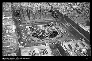 Así ha cambiado el centro histórico de Ciudad de México en 80 años