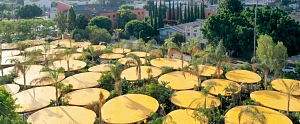 6.500 Plantas para transformar un antiguo aparcamiento. Nuevo co-working en Hollywood por Selgascano