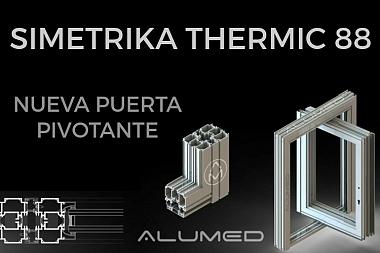 Simetrika Thermic 88 · Serie Pivotante – Abisagrada