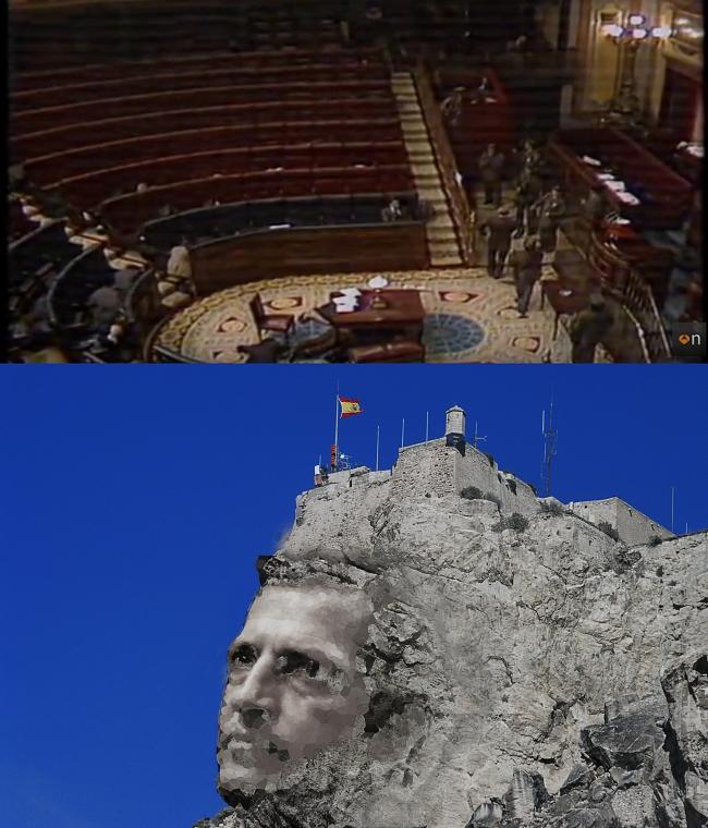 """Propuesta de construcción de efigie de Adolfo Suárez en la """"Cara del Moro"""""""