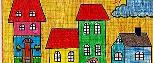 """V concurso de dibujo: """"La ciudad desde tu ventana"""" / """"Tu pueblo desde tu ventana""""."""