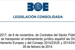 Transparencia, criterios medioambientales y de innovación marcan la Ley de Contratos del Sector Público