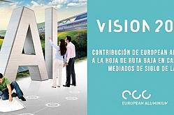 Visión 2050 · La contribución del aluminio europeo a la hoja de ruta baja en carbono