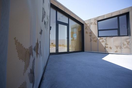 Guardería modular en Móstoles . Madrid . Madrid . España