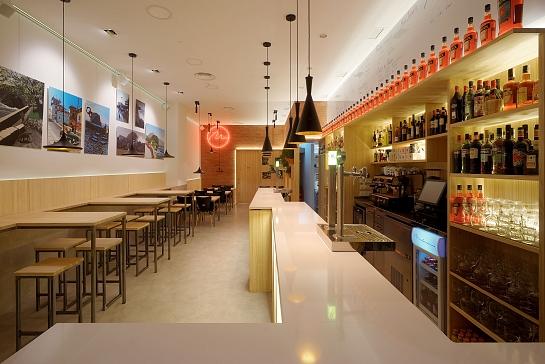 Malandrino Caffé Bar . San Sebastián . Asturias . España