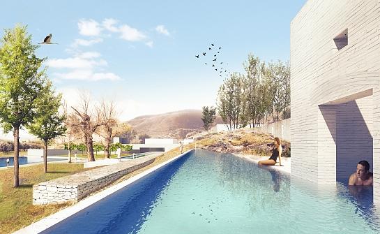 circuito de baños termales al aire libre . Granada . Granada . España