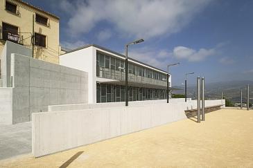 Regeneración urbana del entorno de La Soledad para construcción de 3 viviendas de promoción pública y equipamiento público en Moratalla . Moratalla . Murcia . España