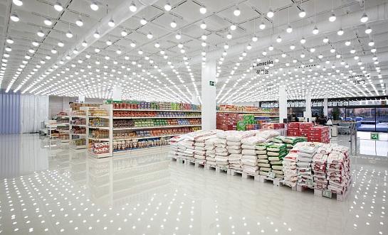 Supermercado Wenzhou . Fuenlabrada . Madrid . España