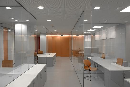 Oficinas Instituto Geológico y Geominero de España . Madrid . Madrid . España