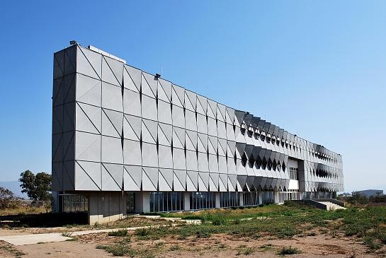 Fachada Edificio de Software IJALTI . Ciudad Guzmán . Jalisco . México