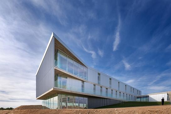 Edificio de Servicios Generales. Universidad San Jorge . Zaragoza . Zaragoza . España
