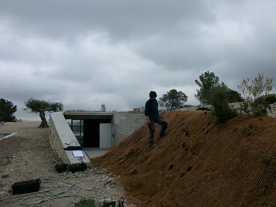Restauración paisajística . Tibi . Alacant . España