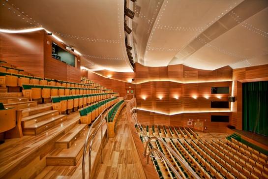 Rehabilitación y ampliación del Teatro RIO . Ibi . Alacant . España