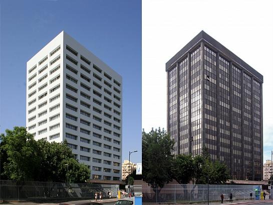 Fachada Activa y Regeneración energética. Edificio Múltiple. . Málaga . Málaga . España