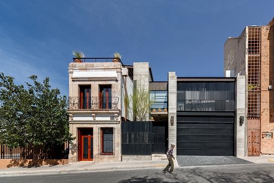 Casa Calle Segunda (C2a) . Chihuahua . Chihuahua . México