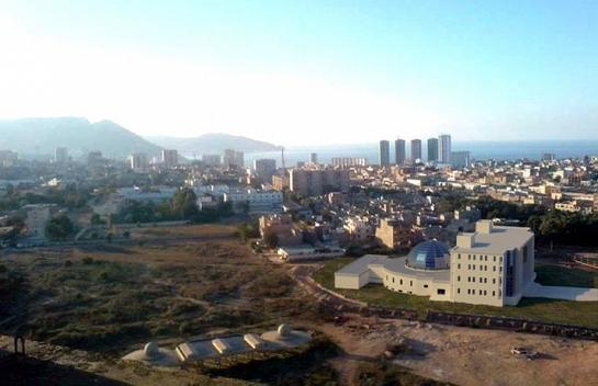 Cúpula de la Nueva Sede de la Daïra en Orán