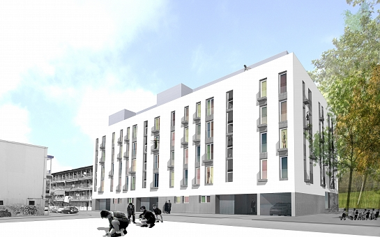 53 viviendas y 58 garajes Los Olivos fase I . Madrid . Madrid . España