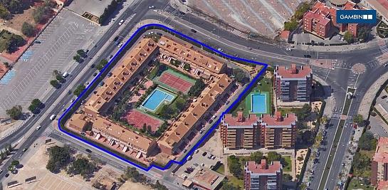Urbanización para 46 bungalows en Av. Doctor Jimenez Diaz . Alicante . Alacant . España