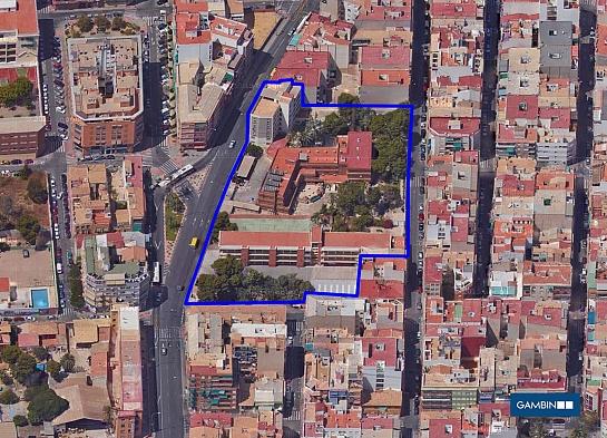 Edificio-Residencia Madres Adoratrices . Alicante . Alacant . España