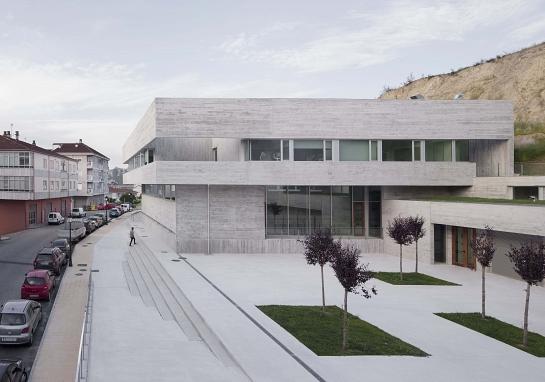 Centro de Salud en Valenzá . Orense . Ourense . España