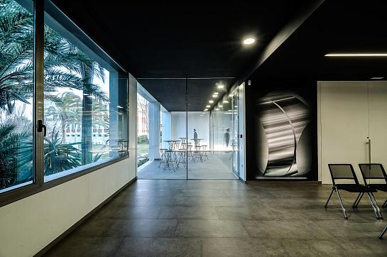 Aludium. Centro de recepción de visitantes . Alicante . Alacant . España