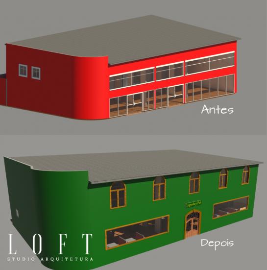 Retrofit Pub