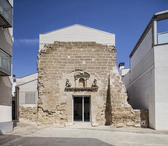 Santa María de Vilanova de la Barca . Vilanova de la barca . Lleida . España