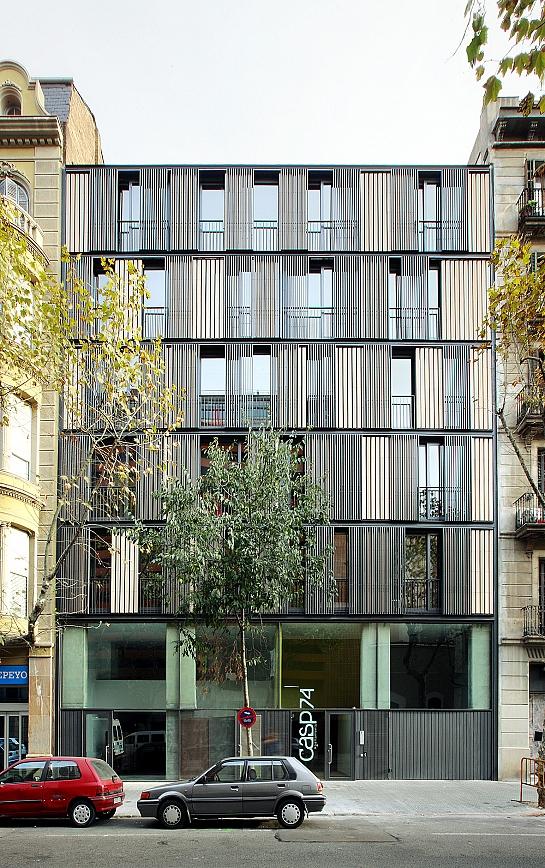 Viviendas Casp 74 . Barcelona . Barcelona . España