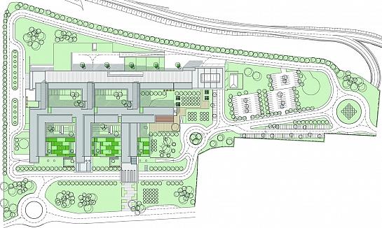 Nuevo Hospital de Agudos en Denia . Dénia . Alacant . España