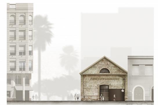 Rehabilitación del antiguo 'Pósito Pesquero' de Santa Pola . Santa Pola . Alacant . España . 2015