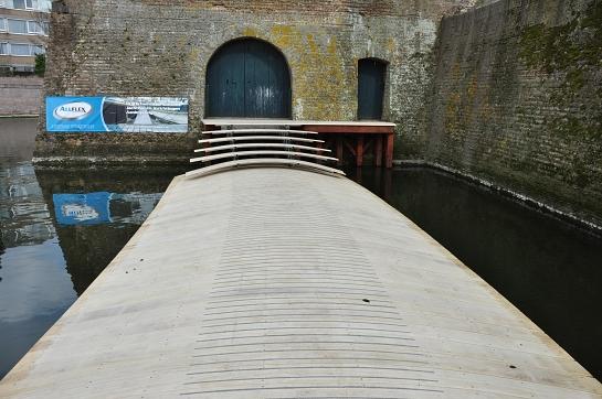 The Ravelijn Bridge . Bergen op Zoom . Noord-Brabant . Países Bajos, Holanda