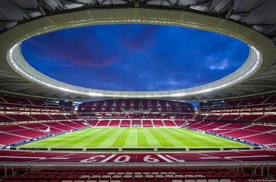 Estadio de fútbol 'Wanda Metropolitano' del Club Atlético de Madrid . Madrid . Madrid . España